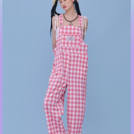 [City Otaku] Overalls (Pink)