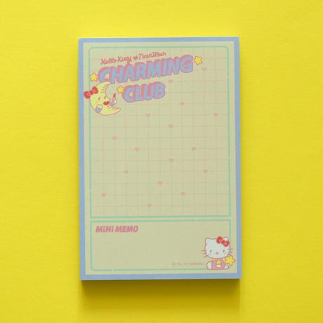 HELLO KITTY CHARMING CLUB Memo Pad