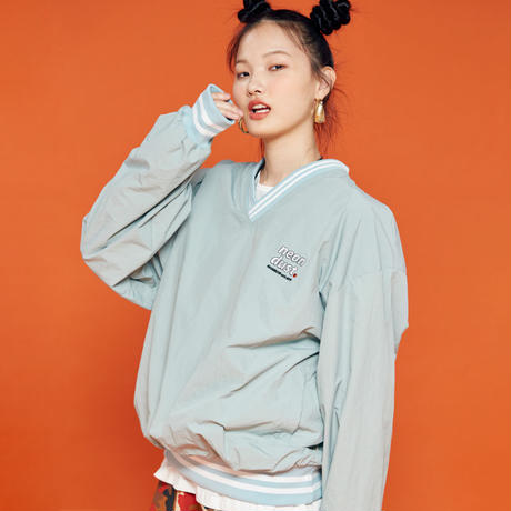 V Sweat Shirt  (Mint)