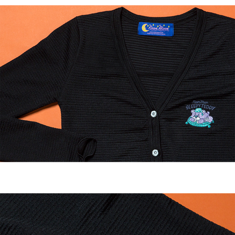 Sleep Bear Cardigan (Black)
