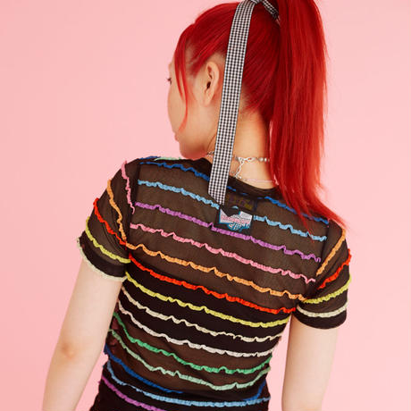 Rainbow T-shirt (Black)