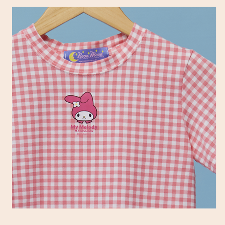 Check T-shirt (My Melody)