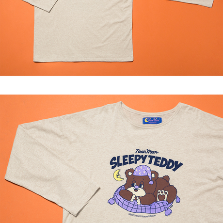 Sleep Bear T-SHIRT (Oatmeal)