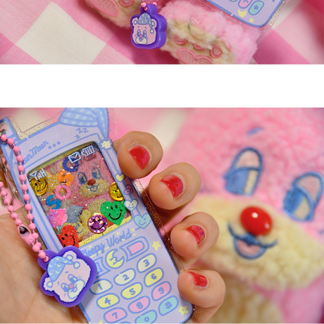 [Sleepy World] Teddy's Phone Key Holder