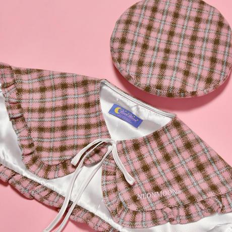 Pink Cape & Beret