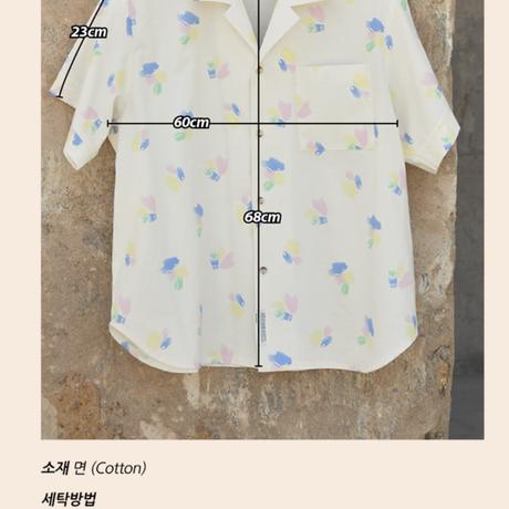 NDD 21SS Camp Shirt_Paint