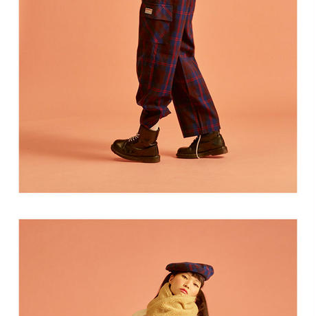 18W Check Pants (Blue)