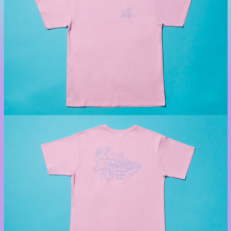 [Rainbow Melody] T-Shirt (Pink)