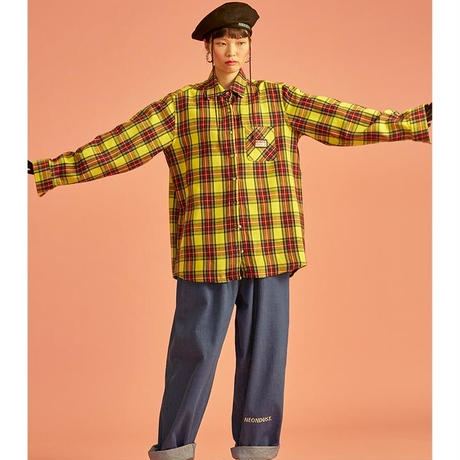 18W Check Shirt (Yellow)
