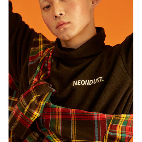 [ND] Turtle Neck T-Shirt (Black)