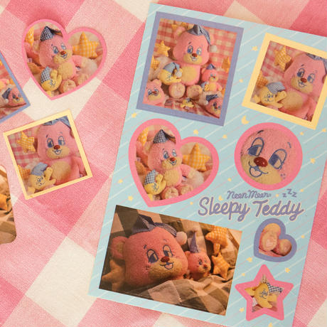 [Sleepy World] Teddy Sticker