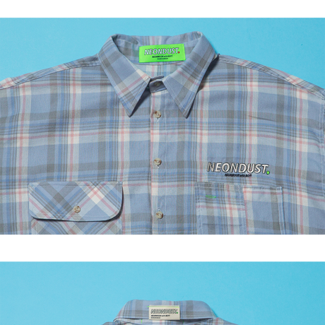 [ND] 20SP Check Shirt (Blue)