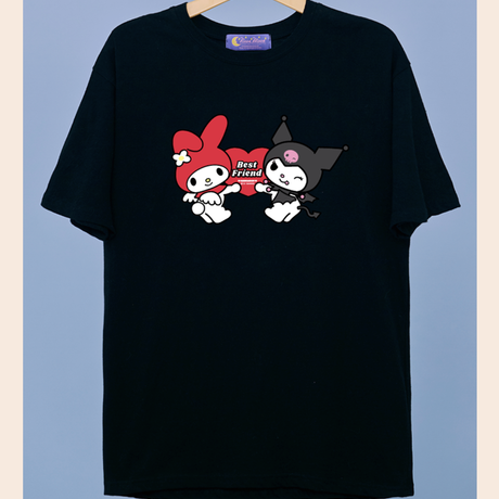 Best Friend 1/2 T-Shirt (Black)