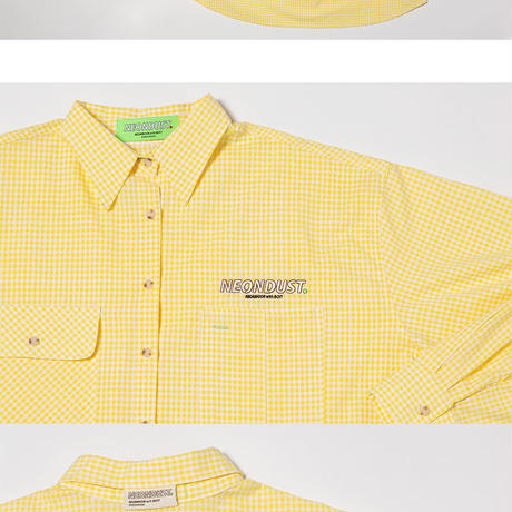 [ND] 19SM Check Shirt (Yellow)