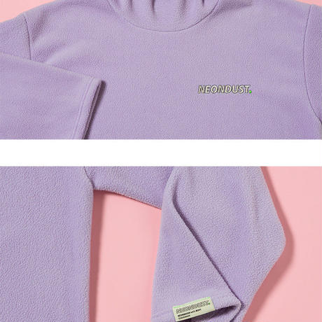 [ND] Turtle Neck T-Shirt (Purple)