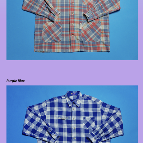 NEONDUST. Pocket Check Jacket