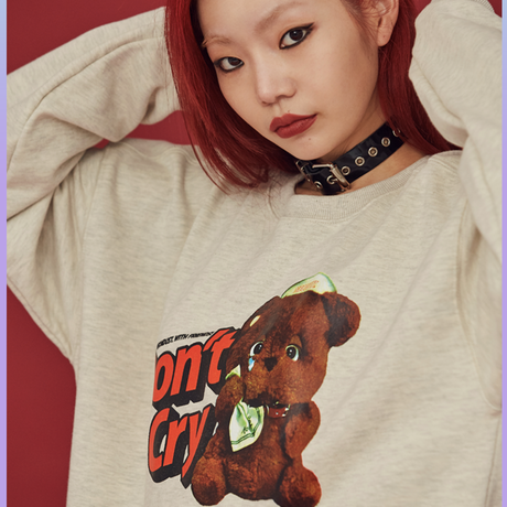 [ND.] 20FW Friends Sweat Shirt (Oatmeal)