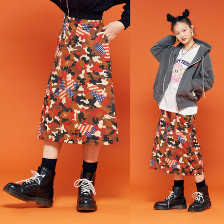 19F Camo Skirt