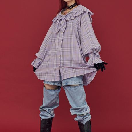 Cape Dress (Purple)