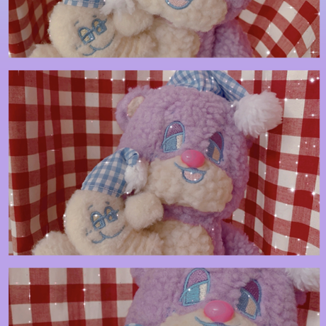 Bubble Teddy Plush (S)