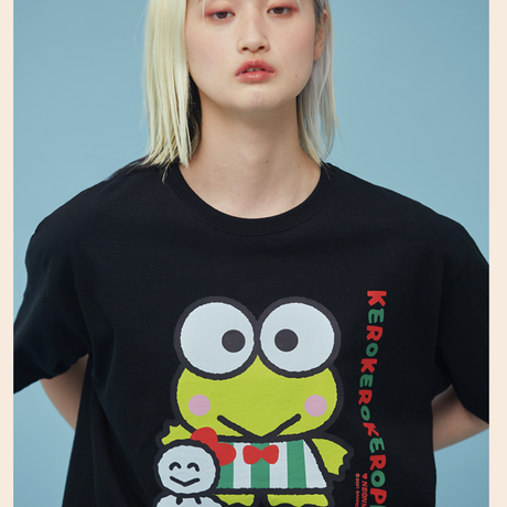 Kerokerokeroppi 1/2 T-Shirt