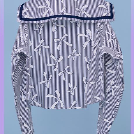 21SS Sailor Shirt (Ribbon)