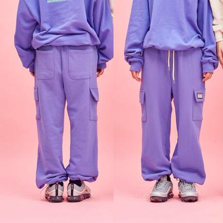 Cotton Pocket Pants (Purple)