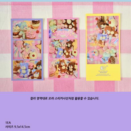 [Sleepy World] Baby TeddyzZ Photo Sticker