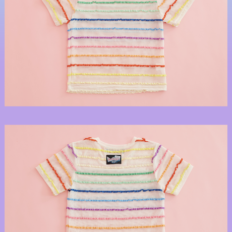 Rainbow T-shirt (White)