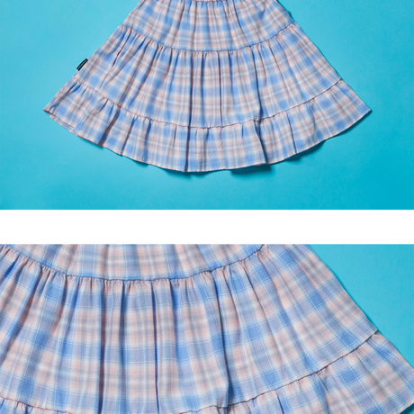 20SP Cancan Skirt (Blue Check)