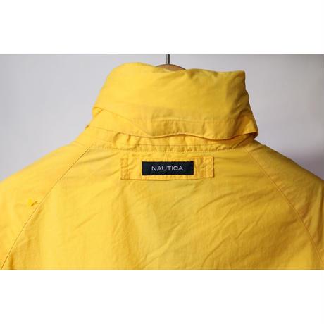 【古着】NAUTICA NYLON JACKET Yellow Size M
