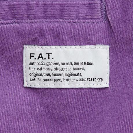 FAT UPPEROY ショートパンツ ハーフパンツ パープル ファットサイズ