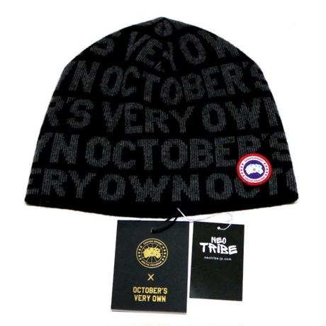 Canada Goose x October's Very Own 2017 Beanie  Black