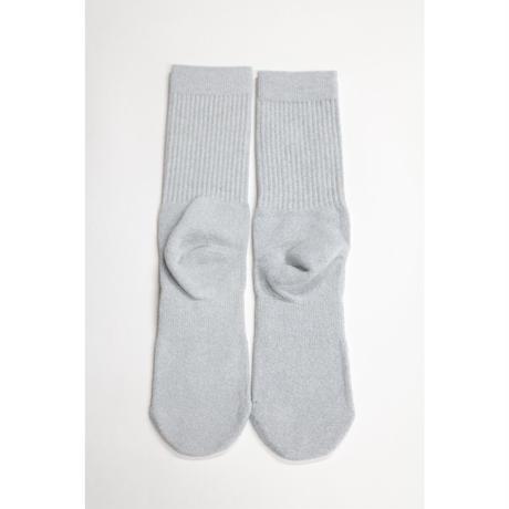 KITH CLASSIC LOGO STANCE SOX Grey Size L (US 9-12 , JP 27-30cm)