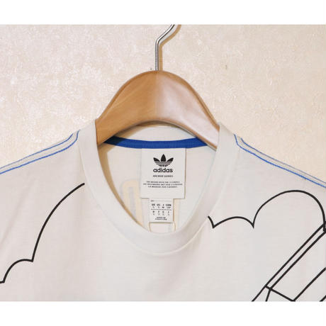 ADIDAS SAILING S/S T WHITE Size US S (JP M)