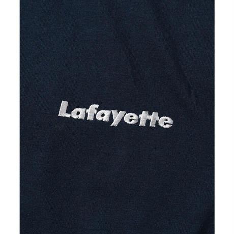 LAFAYETTE スモールロゴ L/S TEE Navy Size L