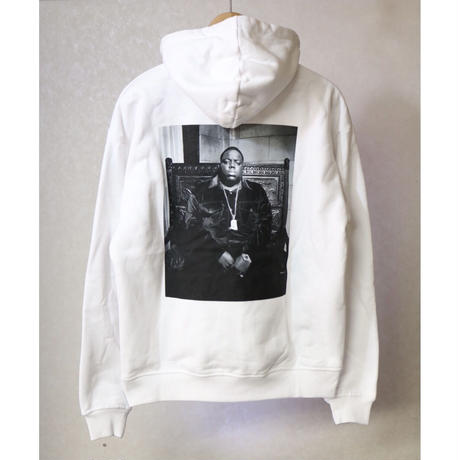 KITH x The Notorious B.I.G Life After Death Hoodie White Size S