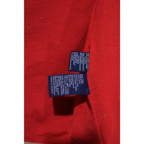 【古着】TOMMY HILFIGER ANORAK COTTON JACKET Beige / Red Size XXL
