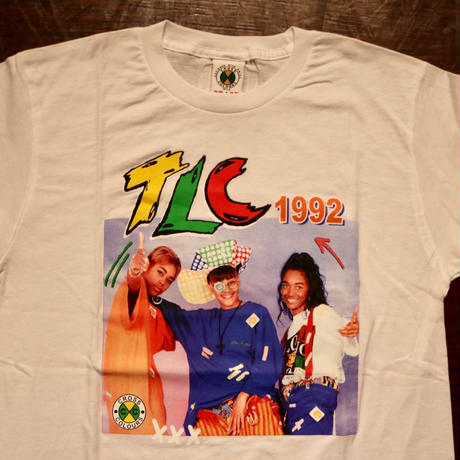 "CROSS COLOURS ""TLC"" S/S T-shirts White"