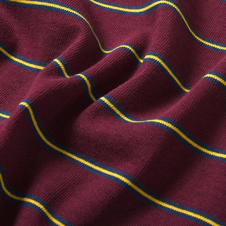 LFYT エルエフワイティー MULTI STRIPED POCKET TEE 半袖 Tシャツ BURGUNDY バーガンディー Size XL