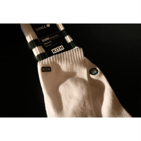 KITH Summer 18 x STANCE Socks Crew Height Green L (US 9-12 , JP 27-30cm)