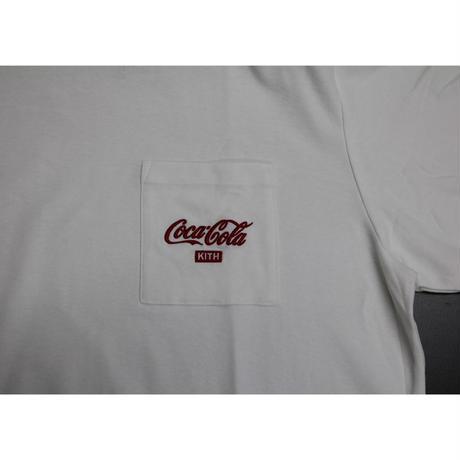 KITH x COCA-COLA POCKET TEE WHITE XL