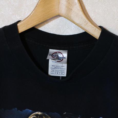 【古着】TIM MCGRAW & FAITH HILL SOUL 2 SOUL TOUR 2007 T SHIRT BLACK Size US L