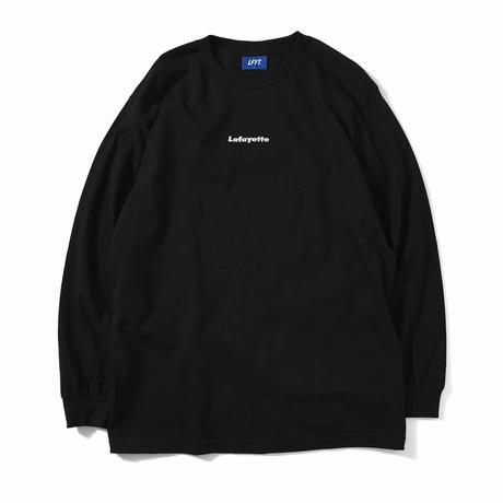 LAFAYETTE スモールロゴ L/S TEE Black Size XL