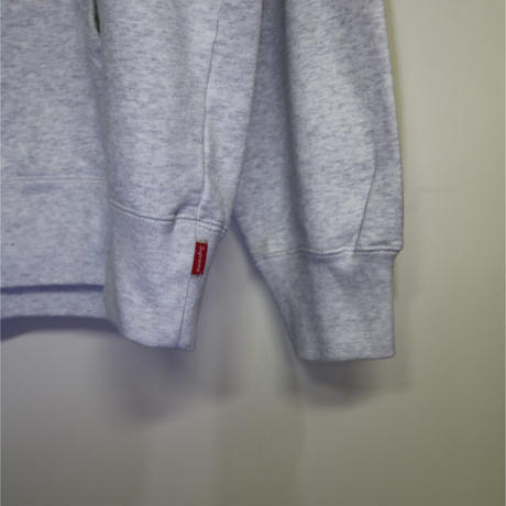 Supreme 18FW Chainstitch Hooded Sweatshirt Ash Grey L size