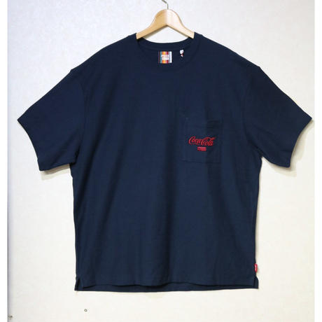 KITH x COCA-COLA POCKET TEE NAVY L
