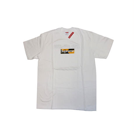 Supreme Box Logo Camo Yellow S/S T-shirts M size