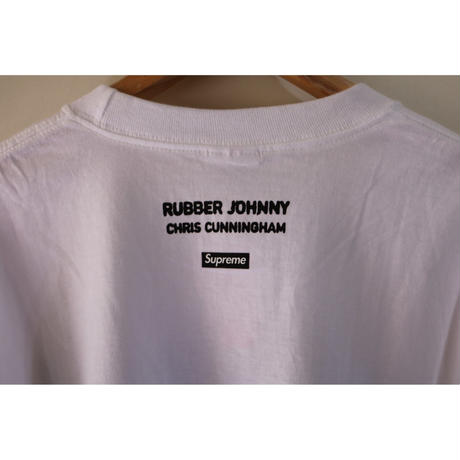 "Supreme Chris Cunningham ""Rubber Johnny"" S/S Tee 18AW White Size L"