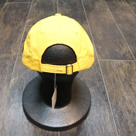 CROSS COLOURS CLASSIC EMBROIDERED DAD HAT YELLOW