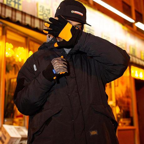 Lafayette BURLAP OUTFITTER ラファイエット バーラップ アウトフィッター NYLON PARKA JACKET BLACK Lsize